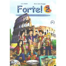 Учебник Forte! 2 (A1+) Libro dello studente ed esercizi + CD audio