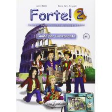 Книга для учителя Forte! 2 (A1+) Guida per L'insegnante