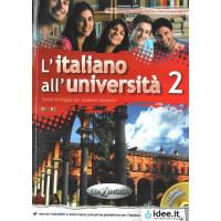 L'italiano all'universita 2 Libro di classe ed Eserciziario + CD audio