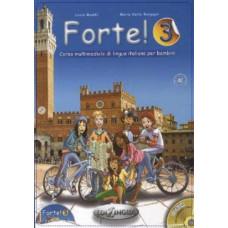Учебник Forte! 3 (A2) Libro dello studente ed esercizi + CD audio