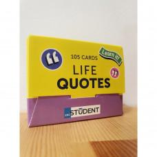 Картки для вивчення англійських слів «Life Quotes»