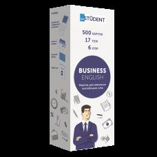 500 карток для вивчення англійських слів Business English