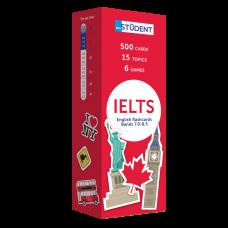 500 карточек  для изучения английских слов  -  IELTS English to English (band 7.0-8.5)
