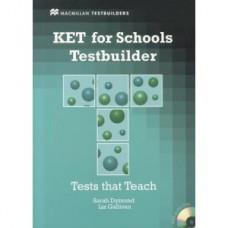 Тесты по английскому языку KET for Schools Testbuilder Book with Key and Audio CD