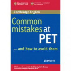 Common Mistakes at PET and how to avoid them Paperback