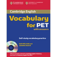 Cambridge Vocabulary for PET with Audio CD