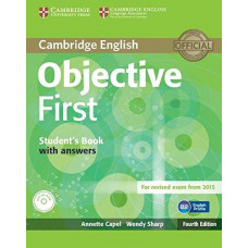 Objective First Fourth edition Student's Book with answers with CD-ROM