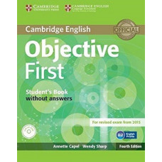 Objective First Fourth edition Student's Book without answers with CD-ROM