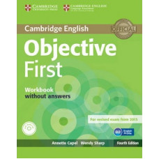 Objective First Fourth edition Workbook without answers with Audio CD