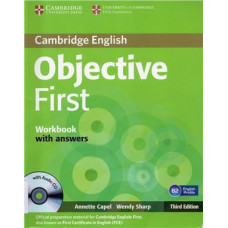 Objective First Fourth edition Workbook with answers with Audio CD