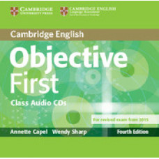 Objective First Fourth edition Class Audio CDs