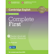 Complete First Second edition Teacher's Book with Teacher's Resources CD-ROM
