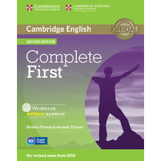 Complete First Second edition Workbook without Answers with Audio CD