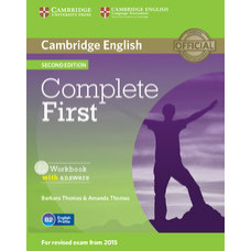 Complete First Second edition Workbook with Answers with Audio CD