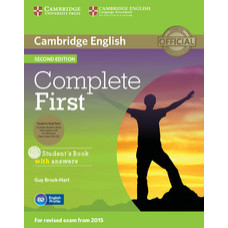 Complete First Second edition Student's Book with Answers with CD-ROM