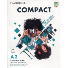 Учебник английского языка Compact Key for Schools Student's Book without Answers with Online Practice 2nd Edition