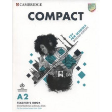 Compact Key for Schools Teacher's Book with Downloadable Class Audio and Teacher's Photocopiable Worksheets 2nd Edition