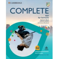 Complete Key for Schools Student's Book without answers with Online Workbook 2nd Edition