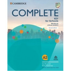Complete Key for Schools Second Edition Workbook without Answers with Audio Download