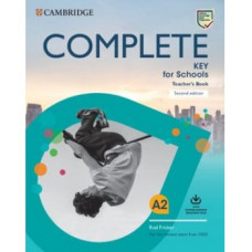 Complete Key for Schools Second Edition Teacher's Book with Downloadable Resource Pack