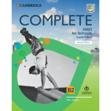 Complete First for Schools Teacher's Book with Downloadable Resource Pack (Class Audio and Teacher's Photocopiable Worksheets) 2nd Edition
