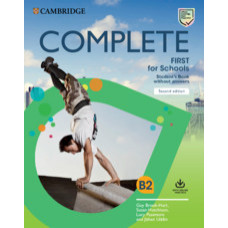 Complete First for Schools Student's Book without Answers with Online Practice 2nd Edition