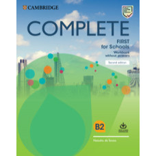 Complete First for Schools Workbook without Answers with Audio Download 2nd Edition