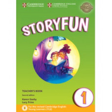 Storyfun for Starters 2nd Edition Level 1 Teacher's Book with Audio