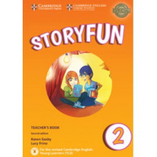 Storyfun for Starters 2nd Edition Level 2 Teacher's Book with Audio