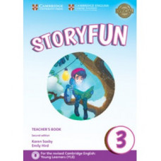 Storyfun for Movers 2nd Edition Level 3 Teacher's Book with Audio