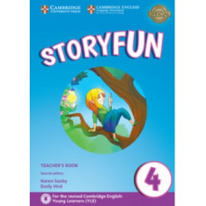 Storyfun for Movers 2nd Edition Level 4 Teacher's Book with Audio