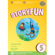 Storyfun for Flyers 2nd Edition Level 5 Teacher's Book with Audio
