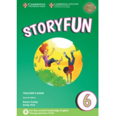 Storyfun for Flyers 2nd Edition Level 6 Teacher's Book with Audio