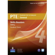 PTE General Skills Booster 4 Students' Book with Audio CD