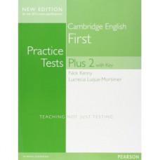 Тесты по английскому языку FCE Practice Tests Plus 2 for revised 2015 exam Book With Key and Online Audio