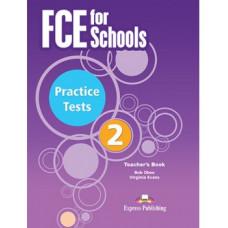 FCE for Schools Practice Tests 2 Teacher's Book