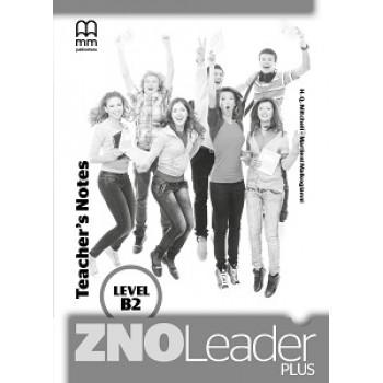 Книга для учителя ZNO Leader Plus for Ukraine В2 Teacher's notes