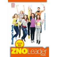ZNO Leader Plus for Ukraine В2 Student's Book with CD
