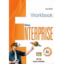 Рабочая тетрадь New Enterprise A2 Workbook