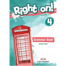 Учебник английского языка Right On! 4 Grammar Student's Book