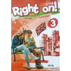 Книга для учителя Right On! 3 Teacher's Book