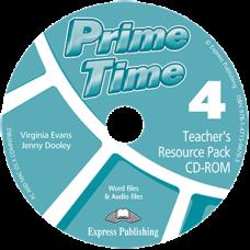 Диск Prime Time 4 Teacher's Resource Pack CD-ROM