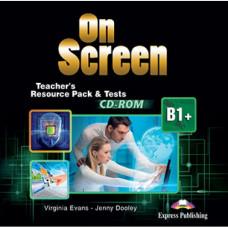 Диск On screen B1+ Teacher's Resource Pack CD-ROM