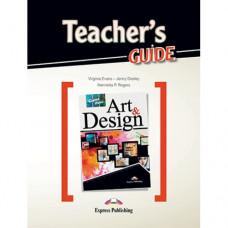 Книга для учителя Career Paths: Art & Design Teacher's Guide