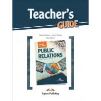 Книга для учителя Career Paths: Public Relations Teacher's Guide