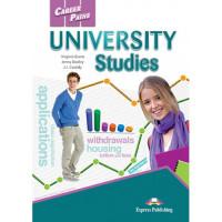Учебник  Career Paths: University Studies Student's Book