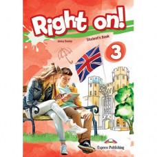 Учебник английского языка Right On! 3 Student's Book