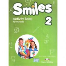 Рабочая тетрадь Smiles for Ukraine 2 Activity Book