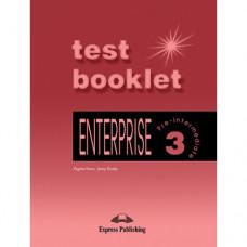 Тесты  Enterprise 3 Test Booklet