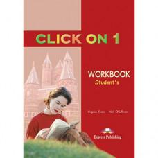 Рабочая тетрадь Click On 1 Workbook